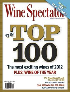 Wine Spectator Top 100 2012
