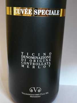 Valsangiacomo Cuvée Spéciale 2010