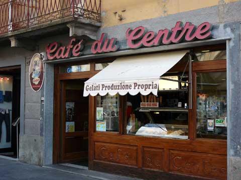 Glaces Café du Centre - Aoste, Italie