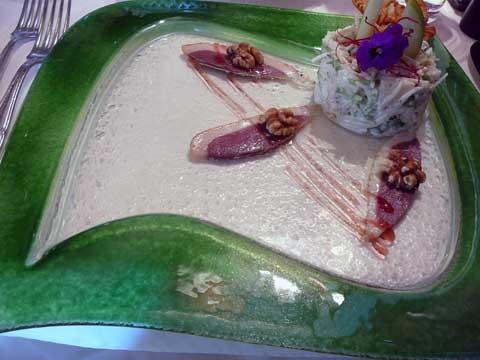 Salade Waldorf de la Pampa