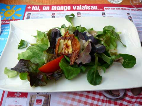 Lafarge - St-Maurice: Chèvre chaud printanier