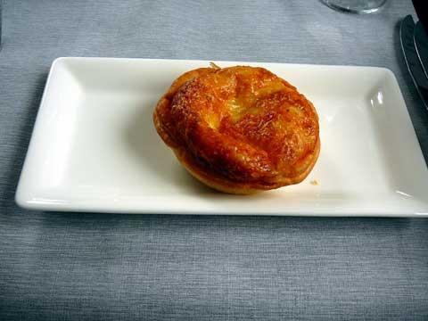 Quiche au fromage d'alpage