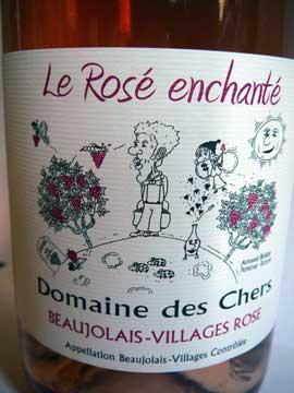 Le Rosé enchanté 2011, Domaine des Chers