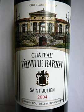 Château Léoville Barton 2004
