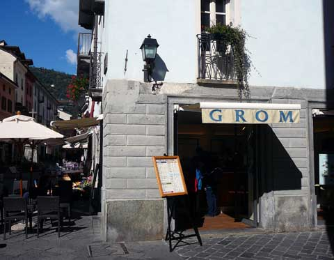 Glaces Grom - Aoste, Italie
