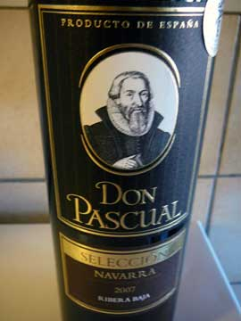 Don Pascual Ribera Baja Sellecion 2007