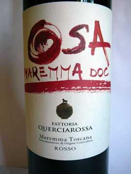 Fattoria Querciarossa OSA 2011