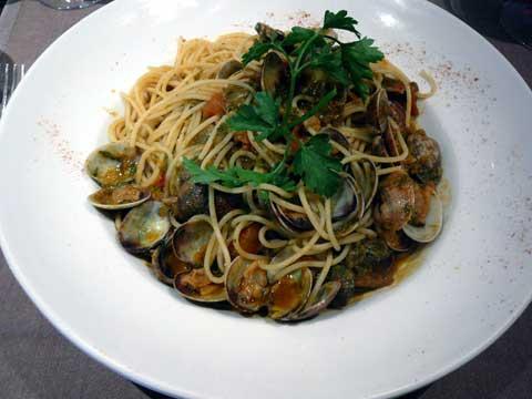 Spaghetti aux vongoles Veraci