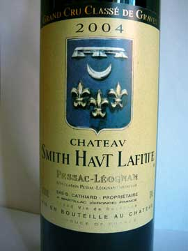 Château Smith Haut Lafitte 2004