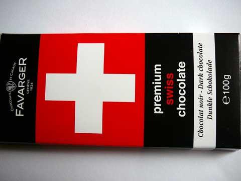 Premium Swiss Chocolate - Chocolat Noir