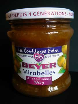 Confiture Beyer Mirabelles