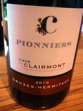 Crozes-Hermitage Les Pionniers Cave de Clairmont - Beaumont-Monteux, France