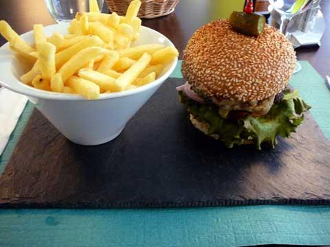 Hamburger de boeuf de la Boucherie du Molard