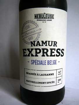 Bière La Nébuleuse Namur-Express