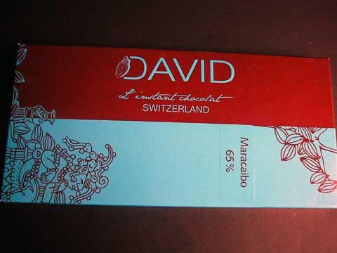David Instant Chocolat Maracaibo 65%
