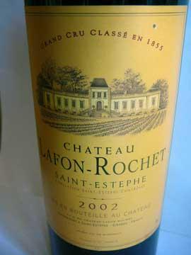 Château Lafon-Rochet 2002
