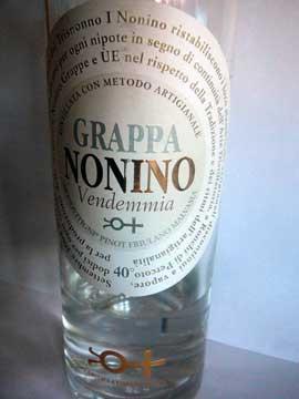 Grappa Nonino Vendemia 2011