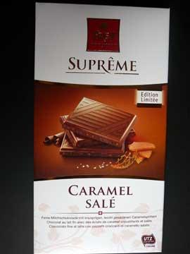 Chocolat Frey Caramel Salé