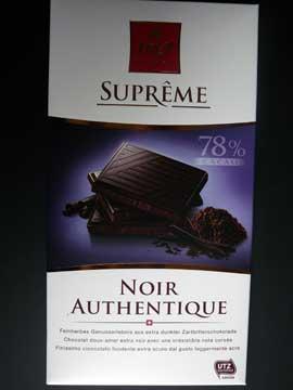 Chocolat Frey Noir Authentique