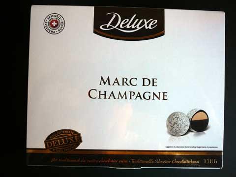 Truffes au Marc de Champagne Deluxe Lidl
