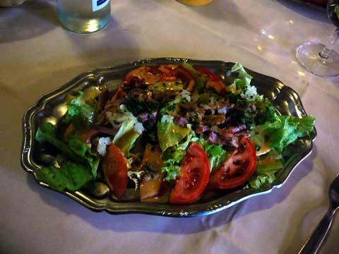 Salade maison