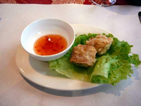 Rouleaux de tofu
