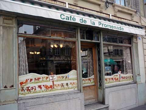 Café Restaurant de la Promenade - Bulle