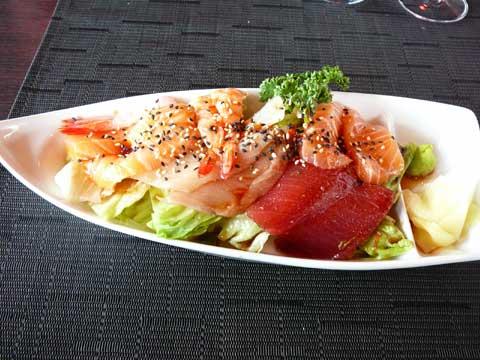 Restaurant Kikuzen Morges : New Style Sashimi