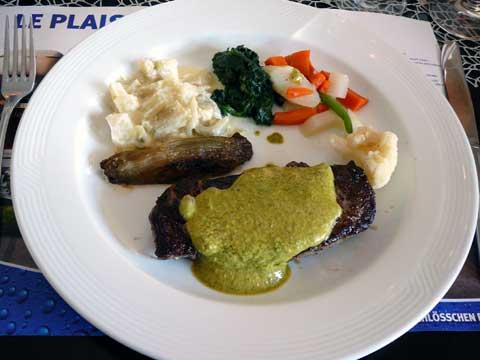 Steak de cheval, sauce café de Paris