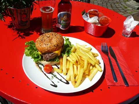 Non Stop Burger, Frites