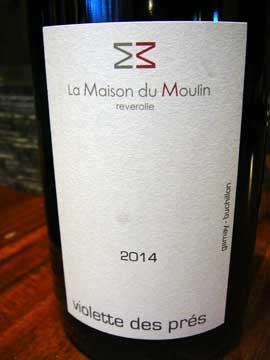 Violettes, Maison du Moulin, Reverolle