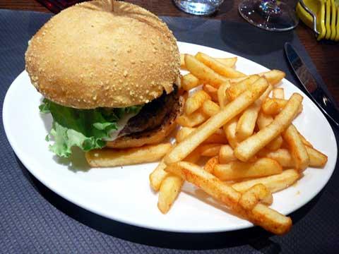 Hamburger Gruyère City
