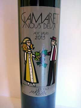 Gamaret Nous Deux 2013, Les Fils Maye