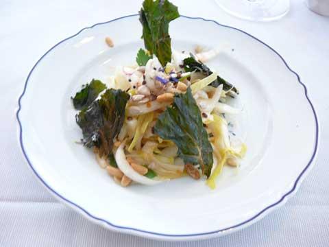 Salade d'endives à l'huile de noix