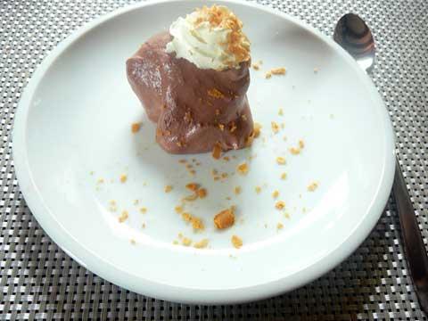 Choux à la crème et mousse au chocolat