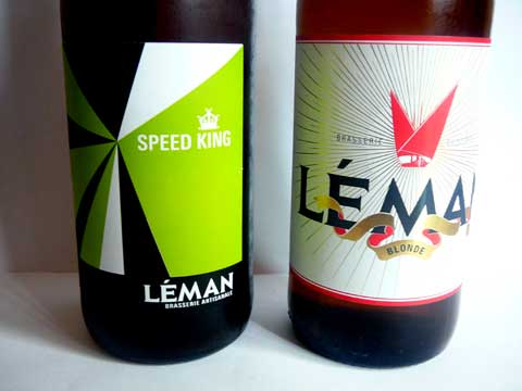 Bières Brasserie du Léman