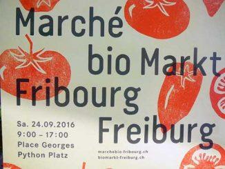 Marché Bio, Fribourg