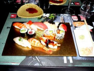 Portion de sushis