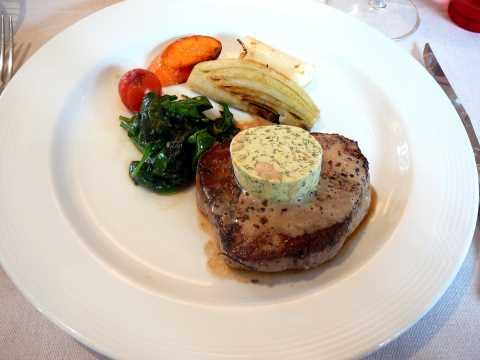 Filet de bœuf Angus, beurre maître d'hôtel
