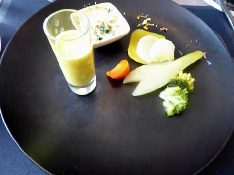 Légumes des entrecôtes