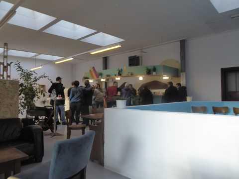 Inauguration de la Brasserie du Haut-Lac à Vevey