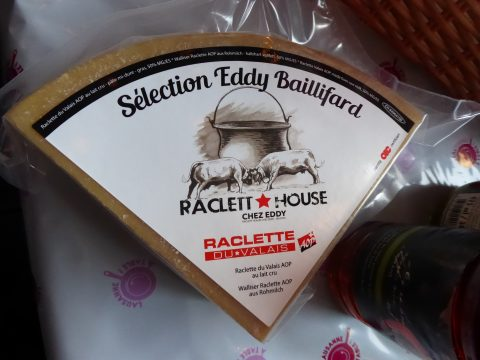 fromage à raclette Eddy Baillifard