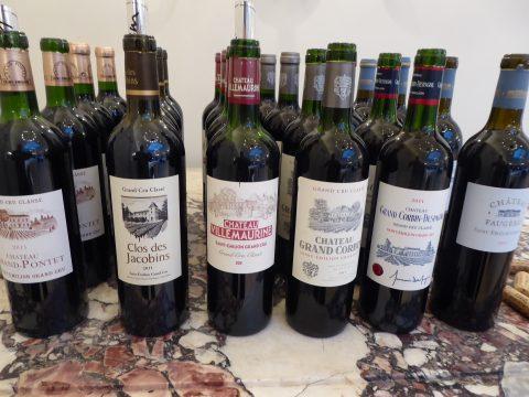 Dégustation Saint-Emilion Grand Crus Classés Vinum 2019 Genève