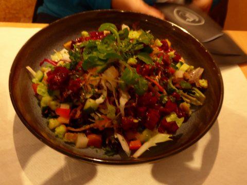 Salade mêlée de printemps