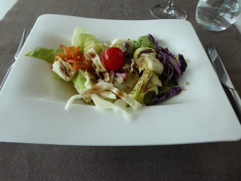 Salade Restaurant Atelier Cully