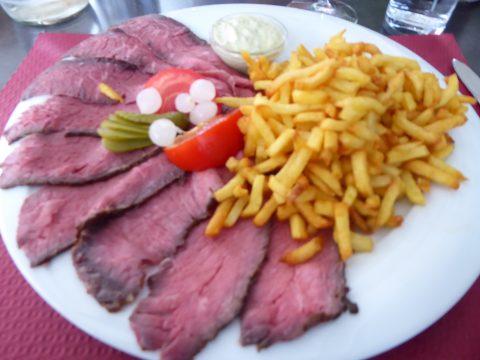 Restaurant Le Philosophe, St-Maurice : Roastbeef