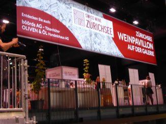 Dégustation AOC Zurichsee à Gourmesse Zurich 2019