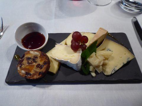 Assiette de fromages de chez Jumi