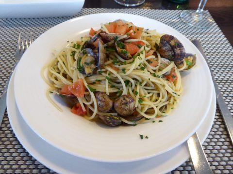 Spaghetti aux vongole
