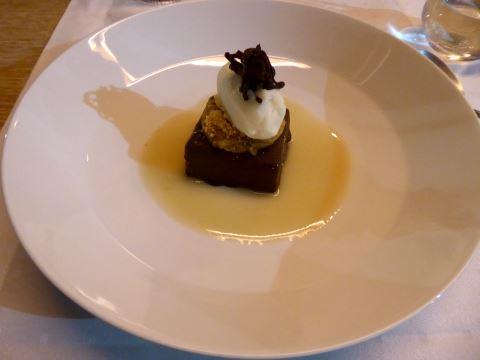 Chocolat Felchlin, sorbet poire